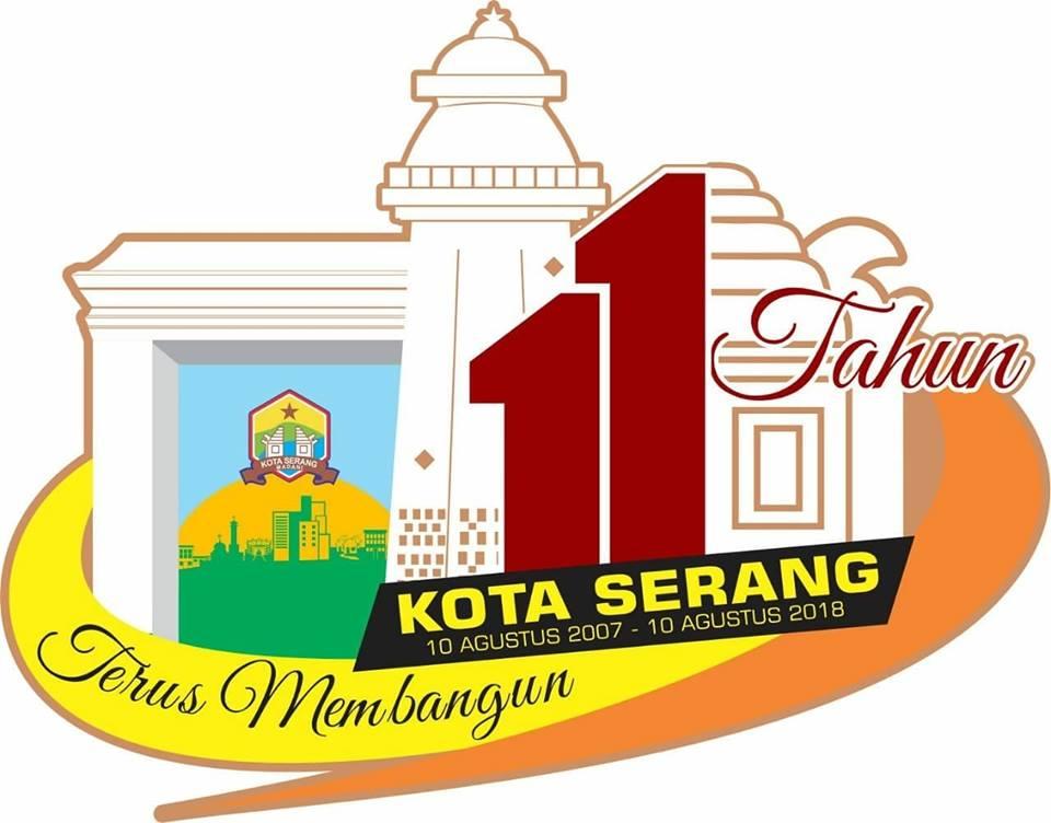 Logo HUT Kota Serang Ke 11 Resmi Diperkenalkan
