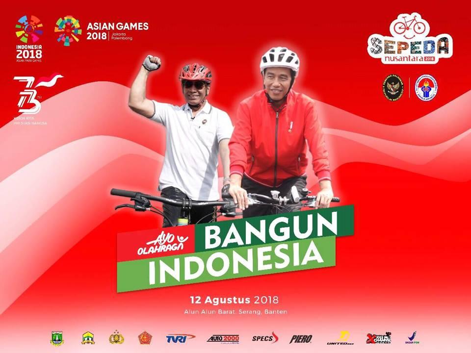 Yuk Ikutan Sepeda Nusantara 2018 Di Alun-Alun Kota Serang