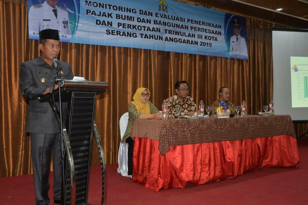 Monitoring dan Evaluasi Penerimaan PBB P2 TA 2019